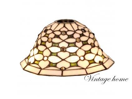 Stínidlo Tiffany Royal - pr.26*12 cm E27 / KH 6 cm