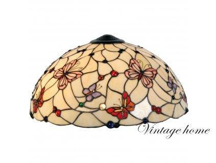 Stínidlo  Tiffany Butterfly Garden - Ø 48 cm