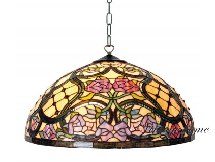 Stínidlo Tiffany Victorianse -pr 50 cm-3 X E27 60W