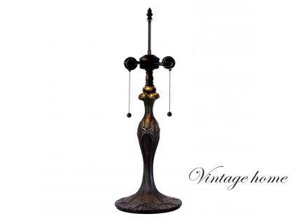 Noha ke stolní lampě  Tiffany - Ø 17*55 cm 2x E27 / Max 60W