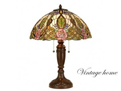 Stolní lampa Tiffany - Ø 47*61 cm 2x E27 / Max 60W