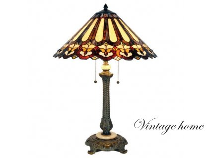 Stolní lampa  Tiffany  - pr 53*71 cm 2x E27 max 60w