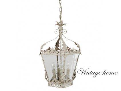Závěsná lampa Shabby - 29.5*29.5*58 cm/ 4xE14