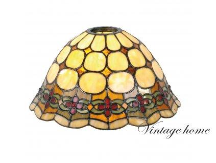 Stínidlo Tiffany - Ø 25 * 15 cm / KH 6 cm
