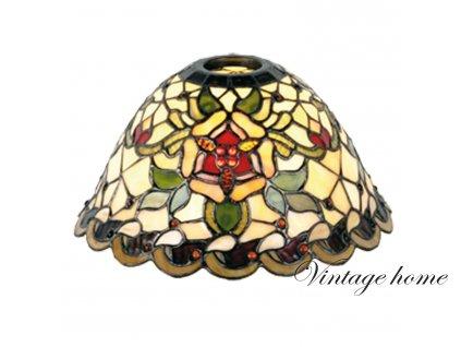 Stínidlo Tiffany  MONTANA  -pr.26*15 cm E27 / KH 6 cm
