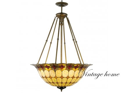 Závěsné svítidlo Tiffany -Ø 92*128 cm 6x E27 / Max 60W