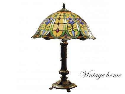Stolní lampa Tiffany - Ø 40*53 cm 2x E27 / Max 60W