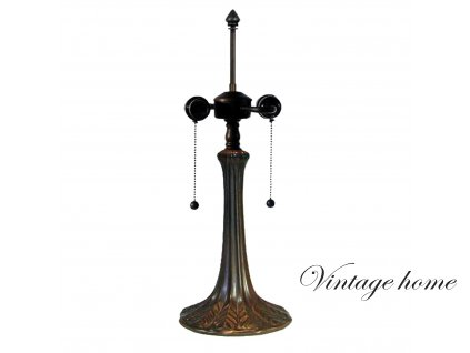Noha ke stolní lampě Tiffany - Ø 17*52 cm 2x E27 / Max 60W