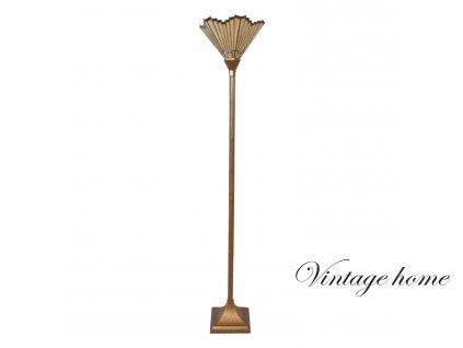 Sojací lampa Tiffany Bronze - 37*37*183 cm E27 / Max 60W