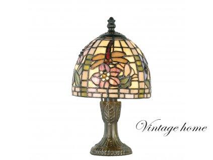 Stolní lampa Tiffany - Ø 16*24 cm 1x E14 / Max 40W