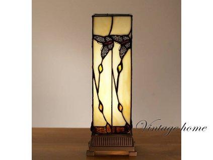 Stolní lampa Tiffany - 12.5*35 cm 1x E14 / Max 40W