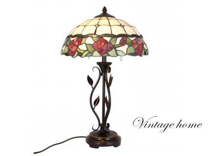 Stolní lampa Tiffany - Ø 35*61 cm 2x E27/60W