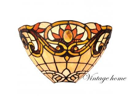 Nástěnná lampa Tiffany  30*15*20 cm 1x E14 / Max 40W