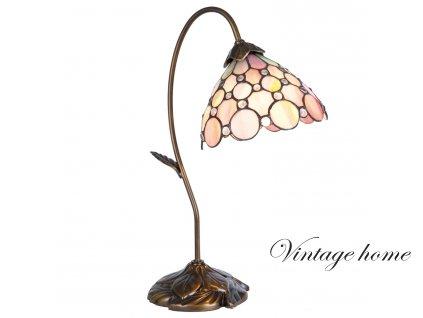 Stolní lampa Tiffany - 30*17*48 cm
