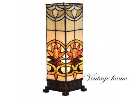Stolní lampa Tiffany -   12*35 cm 1x E14 / Max 40W