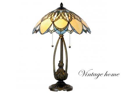 Stolní lampa Tiffany -  Ø 40*60 cm 2x E27 / Max 60W