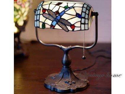 Stolní lampa Tiffany Gonos - 27*20*36 cm 1x E27 / max 60w
