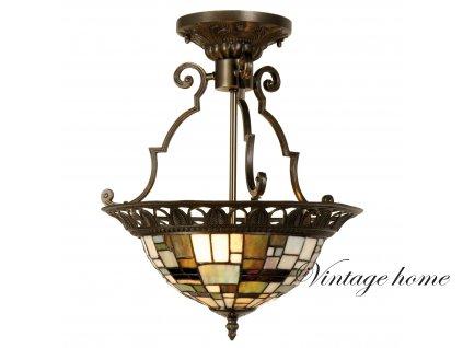Závěsné svítidlo Tiffany- pr.37*41 cm 2x E14 / Max 40W