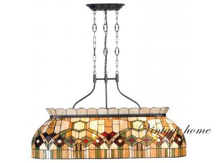 Závěsné svítidlo Tiffany  - 115*36*130 cm E27/4*60W