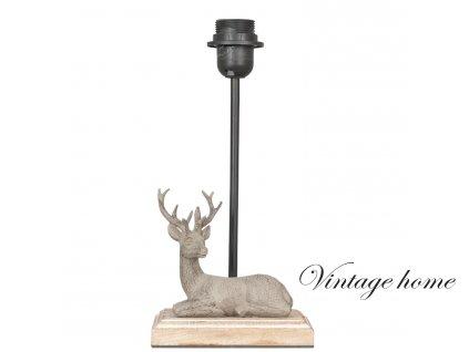 Noha ke stolní lampě - 16*13*35 cm E27 / Max 60W