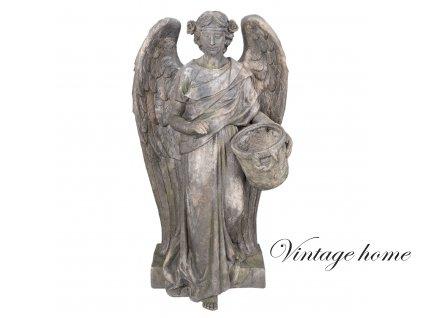 Soška anděla - 58*39*103 cm