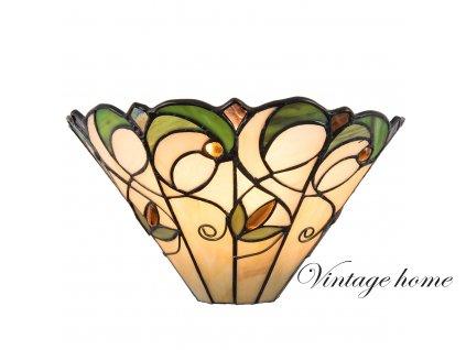 Nástěnná lampa Tiffany- 30*15*16 cm / E14 / Max. 1x40