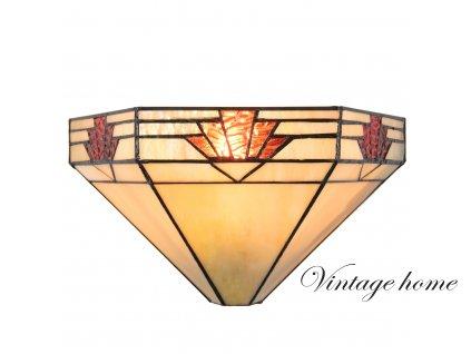 Nástěnná lampa Tiffany- 31*15*17 cm / E14 / 1*40W