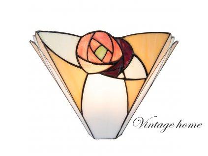 Nástěnná lampa Tiffany - 30*14*19 cm / E14 / 1*40W