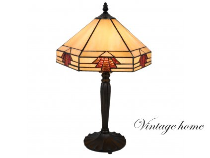 Stolní lampa Tiffany - 31*27*47 cm / E27 / Max. 1x60W