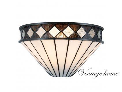 Nástěnná lampa Tiffany - 31*16*17 cm