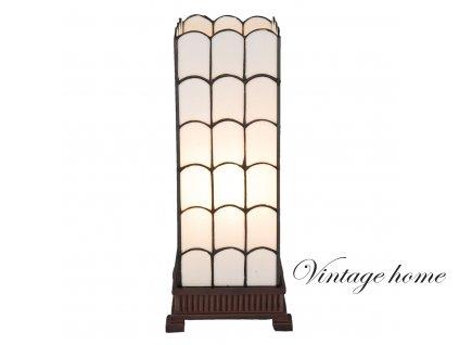 Stolní lampa TIFFANY Georgie - 17*17*45 cm / E27/max 1*40W