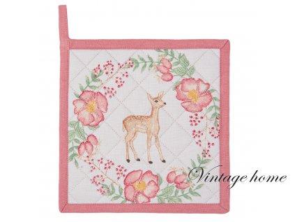 Chňapka Sweet Deer - 20*20 cm