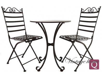 Zahradní souprava stůl+2 židle