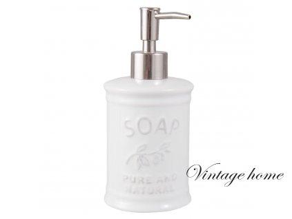 Dávkovač mýdla SOAP- Ø 8*18 cm