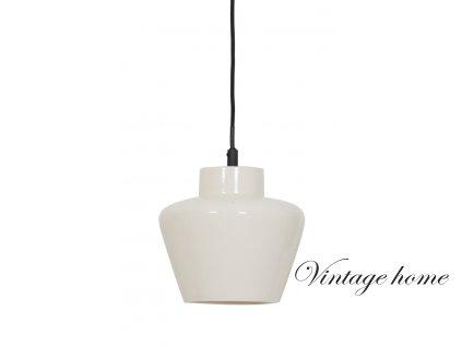 Keramické závěsné světlo -  Ø24*26 cm Souma