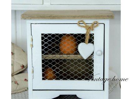 Dřevěná skříňka na vajíčka /kurníček -19*14*19 cm