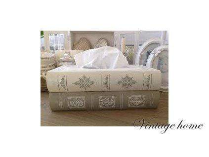 Zásobník papírové kapesníky - 27*16*10 cm