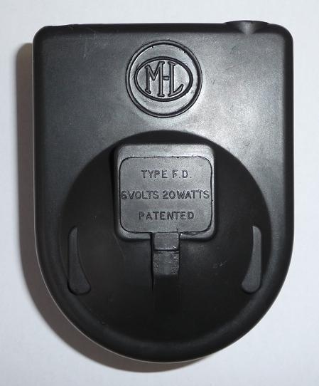378. Replica of plastic cover for  ML dynamo