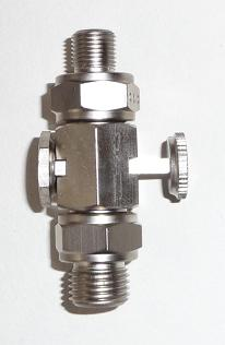 323.   Petrol tap with Whitworth  thread