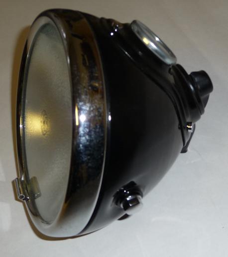 "209.   Replica of headlamp  LUCAS 6"" M42 / MU42"