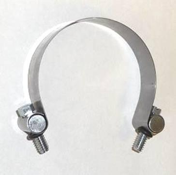 289.   LUCAS dynamo clamp with  screws