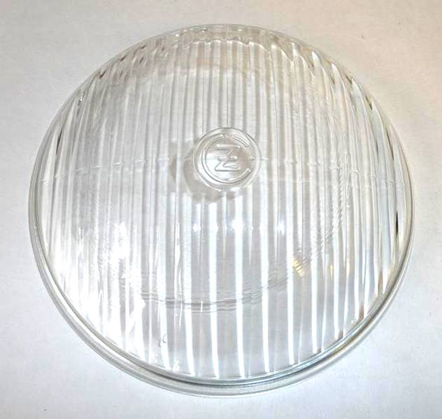 245.   Glass for headlamp  CZ Sport
