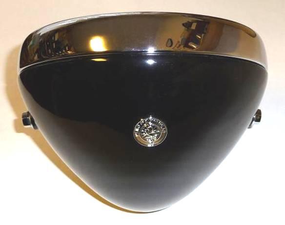"206.   Replica of headlamp without  apparatus LUCAS D142 8"" 1934-1952"