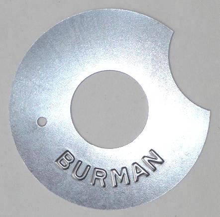 271.   Kryci plech startovací pružiny  převodovky BURMAN