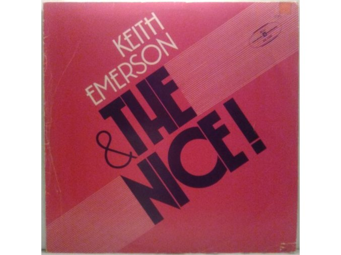 LP Keith Emerson & The Nice ‎– Keith Emerson & The Nice, 1975