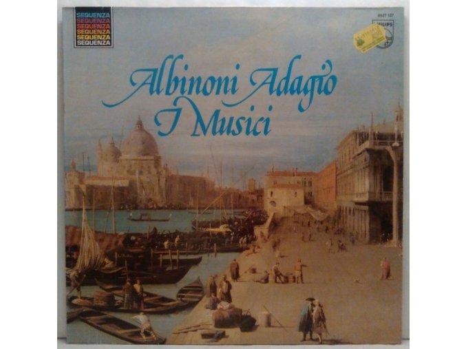 Albinoni, I Musici - L'Adagio - Concertos Pour Violon - Concertos Pour Hautbois, 1981