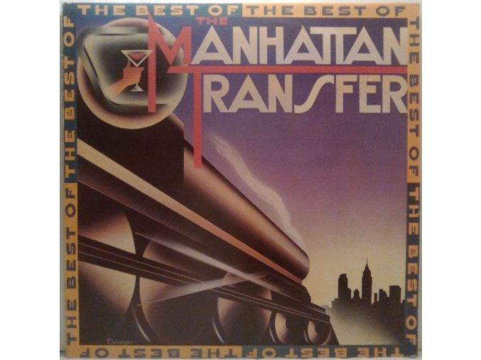 LP The Manhattan Transfer - The Best Of Manhattan Transfer, 1984