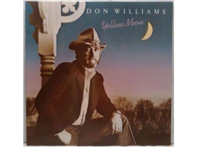 LP Don Williams - Yellow Moon, 1983