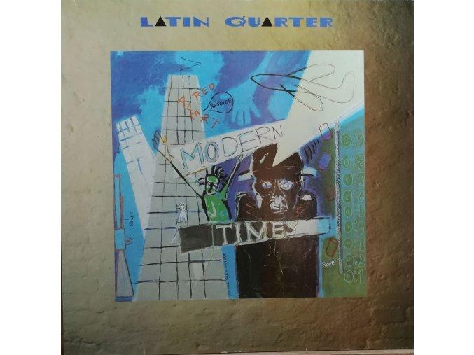 LP  Latin Quarter - Modern Times, 1989