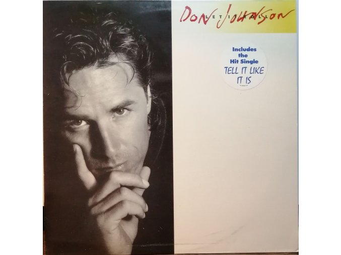 LP  Don Johnson - Let It Roll, 1989